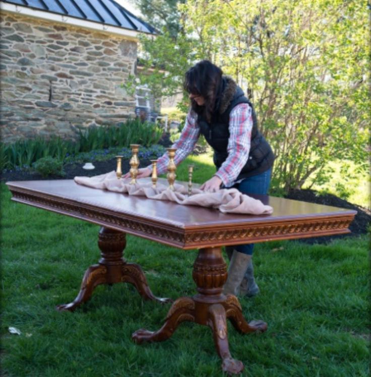 nicolo clawfoot table